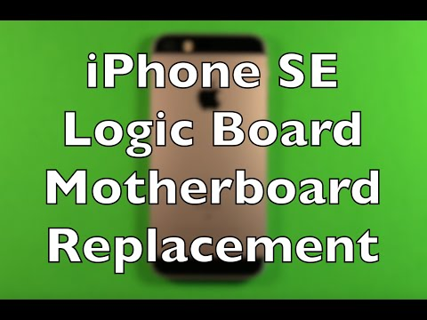 iPhone SE Logic Board Motherboard Replacement How To Change