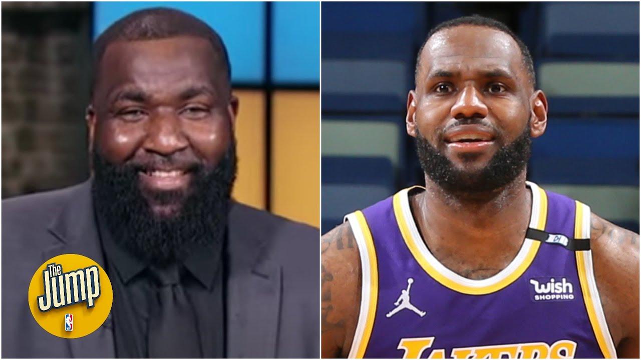 Kendrick Perkins - 'Suns vs Lakers. Lakers in 5' 👀 | The Jump