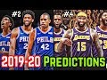 Predicting The NBAs 2019 20 Eastern And Western Conference Standings
