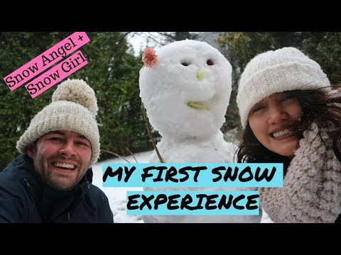 UPDATE!! First snow experience (OFW SERIES VLOG) Inday's Day off
