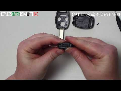 How To Replace A Honda Accord Key Fob Battery 2008 - 2014 Part # KR55WK49308