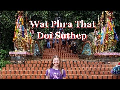 Wat Phra That , Doi Suthep - CHIANG MAI, Thailand