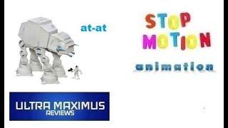 AT-AT Stop Motion Animation