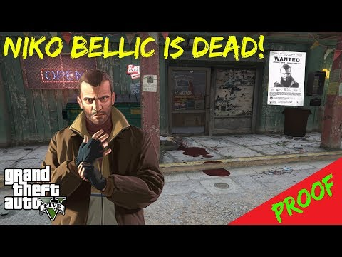 GTA 5 - Niko Bellic is DEAD And I KNOW WHERE He Died!