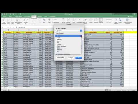 Excel 2016. The efficient use of Sort and Filter for all users