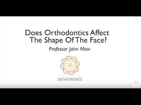 Does Orthodontics Affect The Shape Of The Face? By Prof John Mew