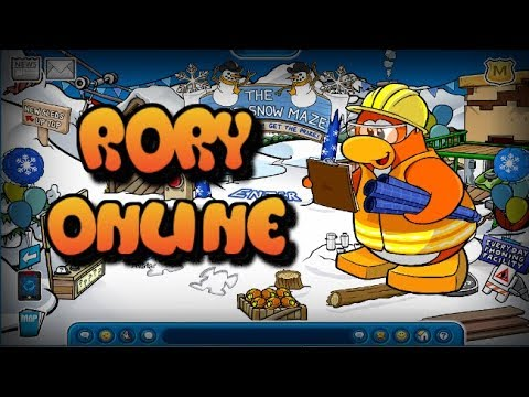 Rory, Aunt Arctic, and Gary Online! - Club Penguin Rewritten