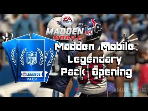 ELITE LEGENDARY PACKS | Madden  Mobile 16