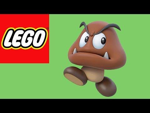 LEGO Goomba (Super Mario Bros) | LEGO How to Build Tutorial