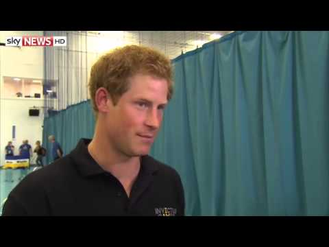 Prince Harry 'Excited' At Baby News