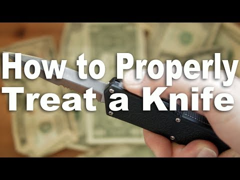 How to Properly Treat Your Cheap or Expensive Pocket Knife.