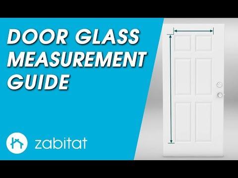 Door Measurement Guide for Door Glass Inserts