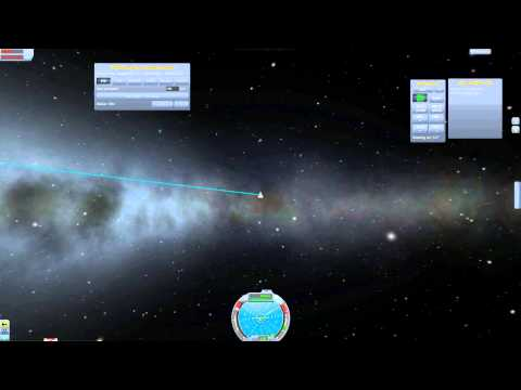 Kerbal Space Program - Escaping the Kerbin Solar System (Using Cheats)