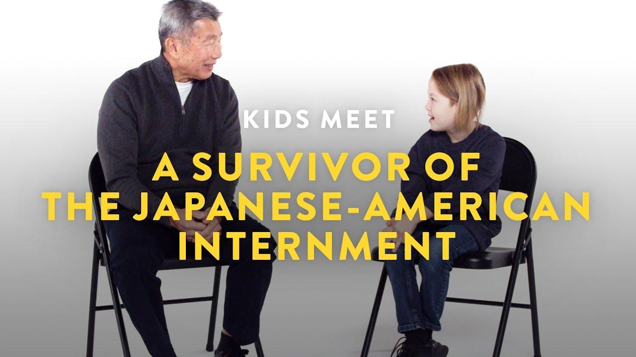 Kids Meet a Survivor of the Japanese-American Internment | Kids Meet | HiHo Kids
