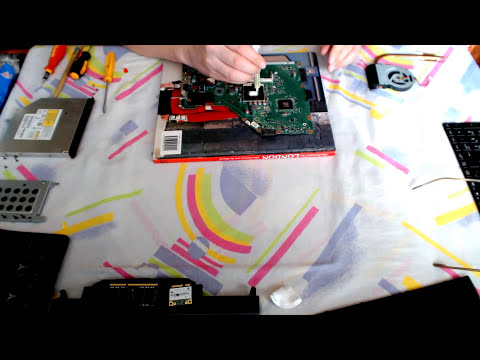 Disassembly Asus X55A Series X55A SX117D