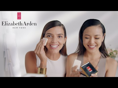 Flawless Finish Sponge-On Cream Makeup Feat. Calu Rivero & Jen Chae   Elizabeth Arden