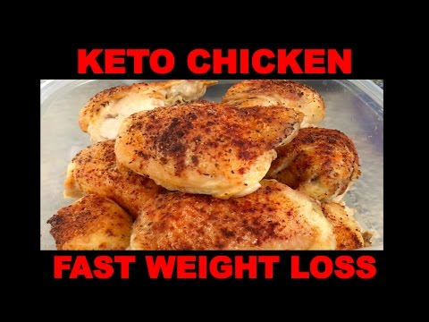 Keto: Baked Chicken Thighs for Fast Weight Loss! High Protein, Delicious Chicken, Melt away body fat