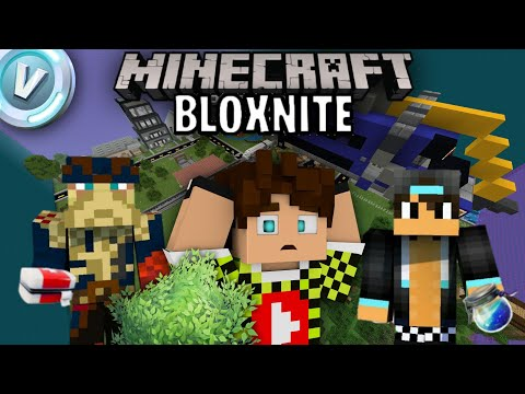 FORTNITE SU Minecraft Pocket Edition ? proviamolo ! BLOXNITE