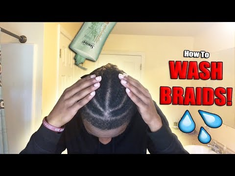 How To Wash BRAIDS! | The BEST / ONLY Way!