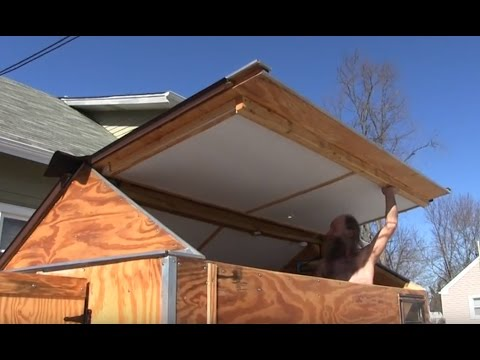 Tour of Tiny House Nomad Style Homemade RV Camper Trailer