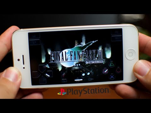 RetroArch - Playstation On iPhone iPod Touch & iPad (Ep. 4) Installing ISOs (Games) And Gameplay