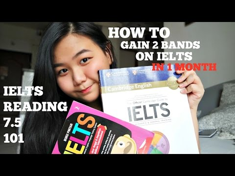 HOW I GOT 7.5 IELTS READING FROM 5.5 WITHIN A MONTH