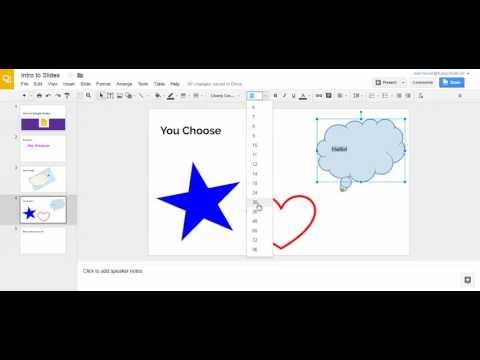 You Choose - Google Slides