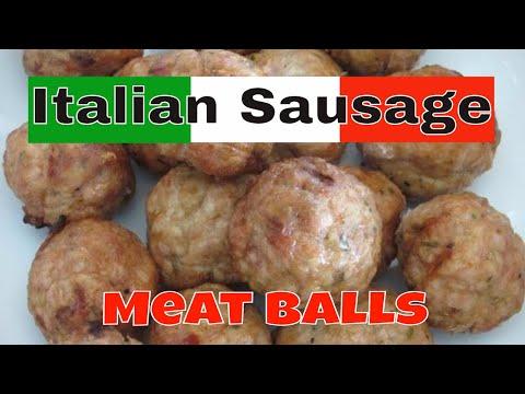 Italian Sausage Meat Balls