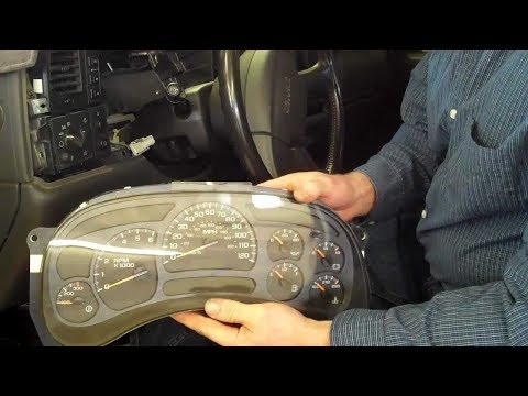 How to repair your Chevy Tahoe Instrument Cluster | 2003 2004 2005 2006 2007