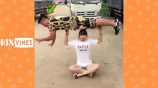 Funny videos 2021 ✦ Funny pranks try not to laugh challenge P168