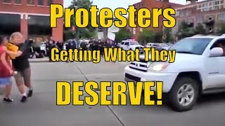 Driver Hits Protesters but Look at What the Police do!