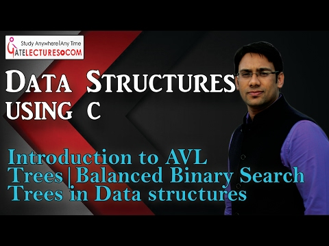 Data Structures Using C 100 Introduction to AVL Trees Balanced Binary Search Trees