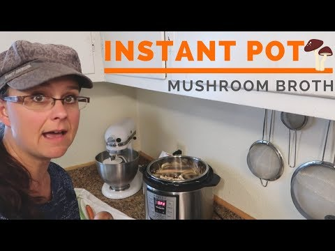 Easy, Homemade Mushroom Broth!!!