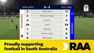 🏆 NPL SA Round 1️⃣6️⃣, 🏟 Croydon Kings vs Adelaide Blue Eagles #NPLSA