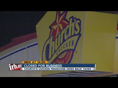 Church's Chicken Closed For Business