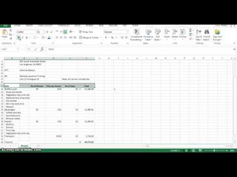 Excel Act  2 7 change alignment indent cells repeat