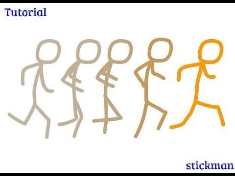 Basic Animation Tutorial : Stickman Run