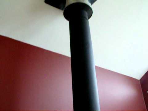 Fireplace chimney smokes when door opened