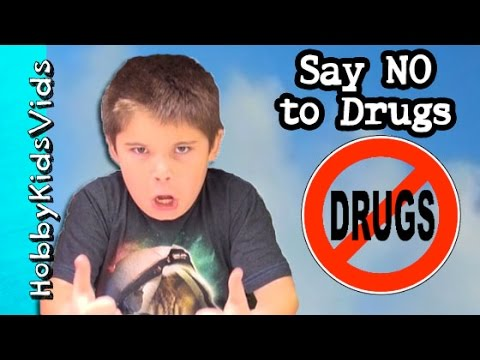 Serious Message: Say No To Drugs! No To Smoking + Obey Your Parents by HobbyKidsVids
