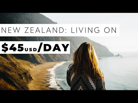 New Zealand Travel Budget- Campervan Roadtrip- Less than $50 per person per day!