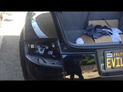 AUDI TT OEM TAIL LIGHT REMOVAL AND BULB REPLACEMENT