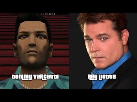 GTA VICE CITY CHARACTERS AND ACTOR VOICE