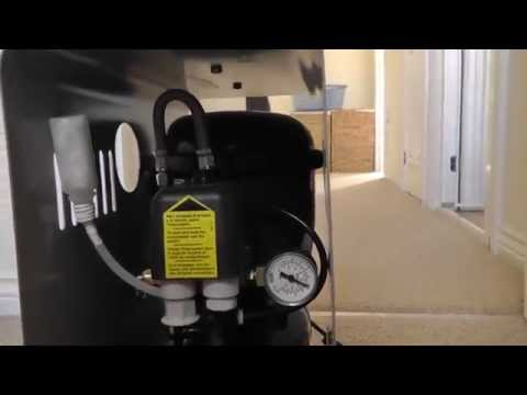 Sil-Air 15D (Silentaire) Silent Airbrush Compressor Review - Part 2 - Operation
