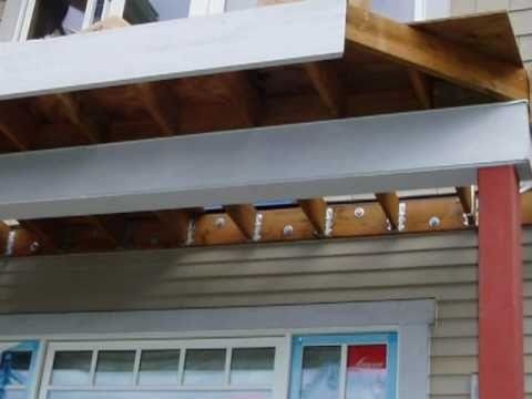 Lag Screws and Ledger Boards: King of the House Home Inspection