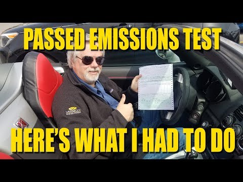 Finally Passed The Emissions Test