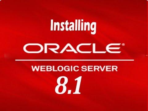 Installing WebLogic 8.1 Application Server
