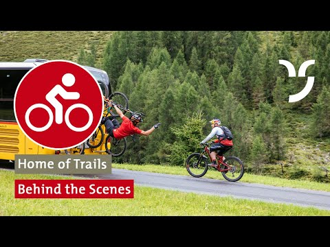 Behind the Scenes: Danny MacAskill & Claudio Caluori «Home of Trails»