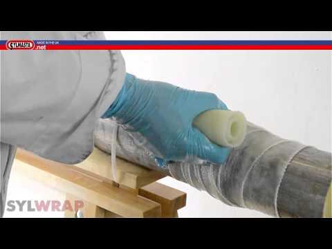 Leaking Pipe Repair - Sylmasta Pipe Bandage PART 2