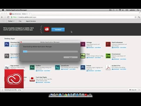 Installing desktop apps from Creative Cloud  | Adobe Creative Cloud
