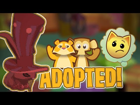 GETTING ADOPTED IN ANIMAL JAM!